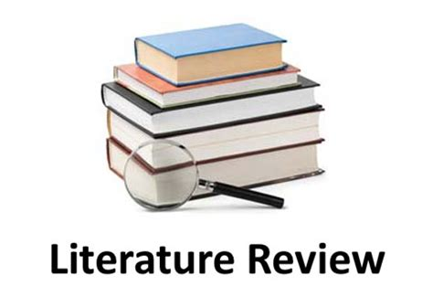 8 Sample Literature Reviews Sample Templates